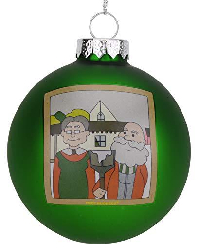 Tree Buddees Weihnachtsdekoration, Motiv, amerikanisches Weihnachtsbild - Grant Holz-künstler
