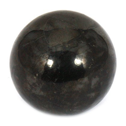 Shungite Medium Crystal Sphere ~4.5cm by CrystalAge