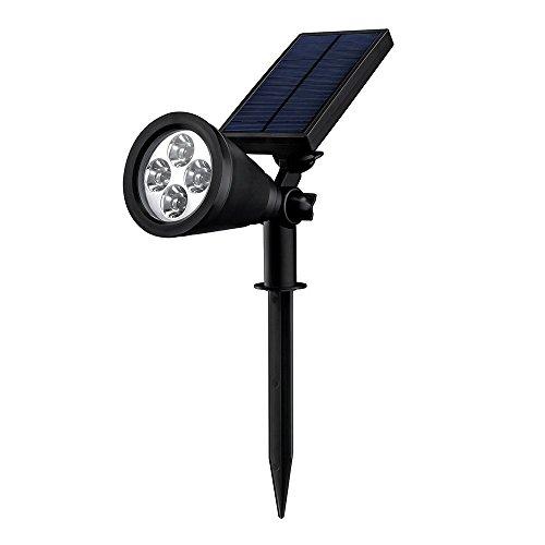 Mpow Soleil Lampada Solare Impermeabile Luci Solari per Cortili Giardini Prato