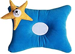 Amardeep And Co Soft Baby Pillow Blue 27cms - ad1149