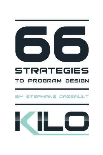 66 Strategies to Program Design por Stephane Cazeault