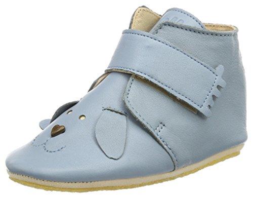 Easy Peasy Kiny Chien, Chaussons pour enfant mixte bébé - bleu - Bleu azur, 24