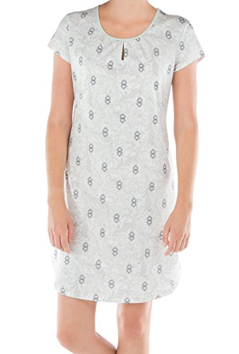 Calida Brighton Sleepshirt Damen folkstone grey