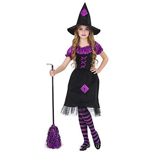 Mädchen Hexe Fee Kostüm - Widmann Kinderkostüm Hexe 104 cm