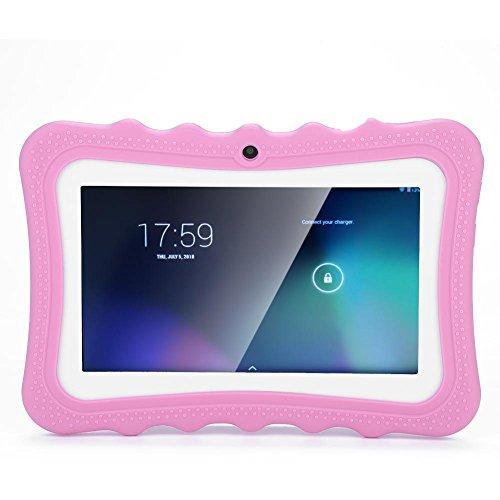 tablet per bambini 6 12 anni VBESTLIFE Tablet PC per Bambini da 7 Pollici Touch Screen Tablet PC con Protezione degli Occhi WiFi 512 M di RAM e 8 GB di Rom con Lunga Durata per Bambini(Rosa)