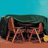 Abdeckhaube für Sitzgruppe bis  ca. 200 cm, Schutzhülle, Wetterschutzhülle für Sitzgruppe