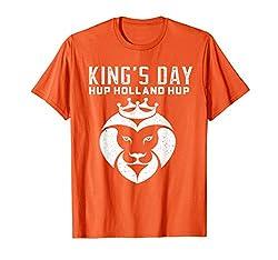 Holland Kings-Tagest-shirt niederländischer Löwe T-Shirt
