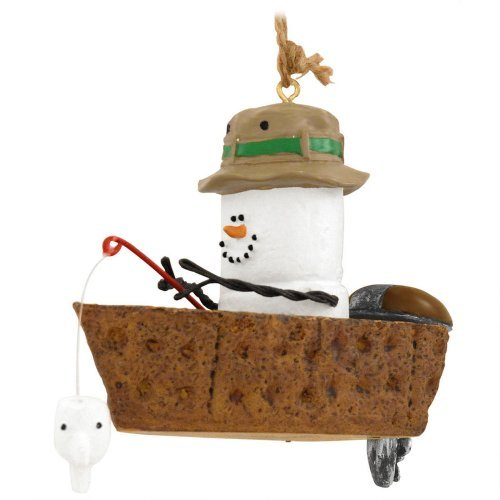 Midwest-CBK S'mores In Fishing Boat Ornament - MID40362 by Midwest-CBK
