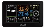 Youshiko WiFi Weather Station, (Offical UK Version) Indoor Outdoor Temperature Thermometer, Humidity, Barometric