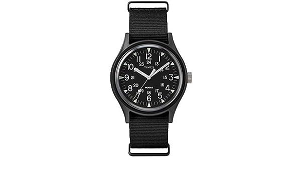 Timex Tw2r37400 Schwarz Aluminium Mann UhrUhren qMVpGSzU