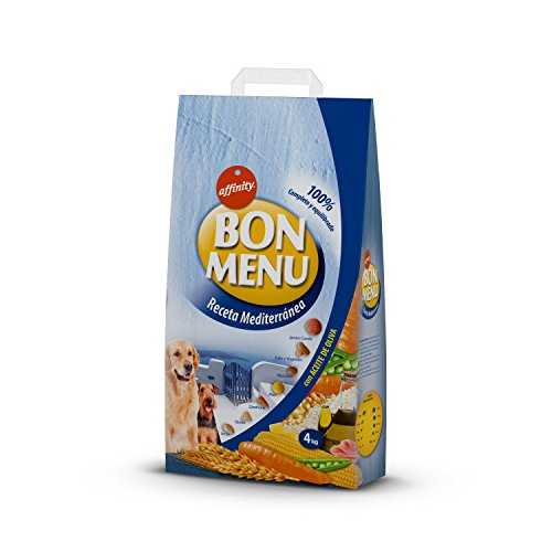 Affinity Bon Menu Receta Mediterránea Alimento Completo para Perros Adultos - 4000...
