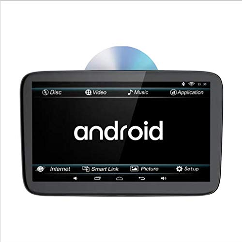 Kissen Auto-TV, 11,6-Zoll-Universalkopf Hinten DVD-Entertainment-System, Rücksitzhalterung Für Multimedia-Unterhaltung, Bluetooth, WLAN-Internetzugang, FM Start Auto, Jeep, Bus, LKW