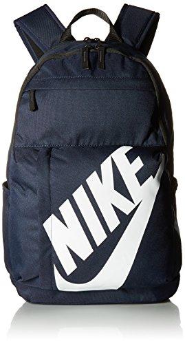 Nike Sportswear Elemental Rucksack, Obsidian/Black/White, 13 x 34 x 47 cm Nike Sport Rucksack