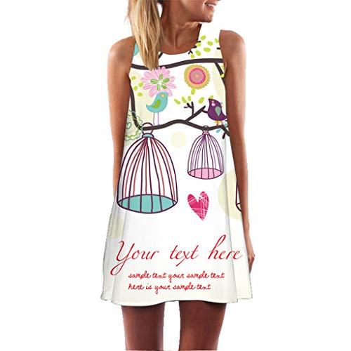 XuxMim Abiballkleider Ballkleid Abendkleid Lang Neckholder Chiffon Strass Abschlusskleid(Pink-1,X-Large) (Pacman Kostüm Frauen)