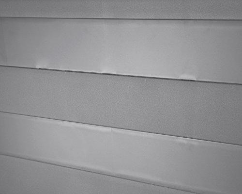 Kissenbox Auflagenbox Gartentruhe Terrassenbox Elegance warmgrau abschließbar -