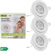 120° GU10 LED Strahler//Spot 1,2W 90Lm 3000K warm-weiß 230V
