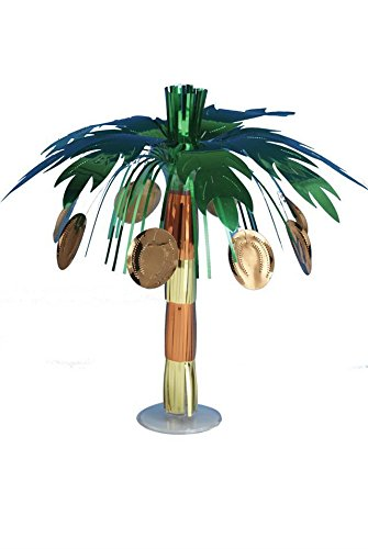 Tropical Folie Coconut Tree Party Cascade Mittelpunkt