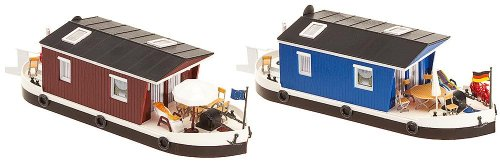Preisvergleich Produktbild FALLER FA131008 - 2 Hausboote