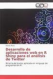 Desarrollo de aplicaciones web en R Shiny para el análisis de Twitter: Minería de textos aplicada en lenguaje de programación R