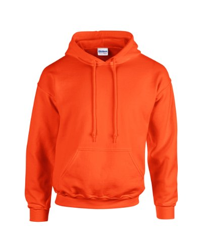 Gildan Heavy Blend Erwachsenen Kapuzen-Sweatshirt 18500 Orange S (Gildan Sweatshirt Kinder)