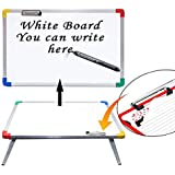 Tender Care Kids Reading Writing Board Study Table With Marker And Duster- Aluminium Body- Big Size (24X16X10)