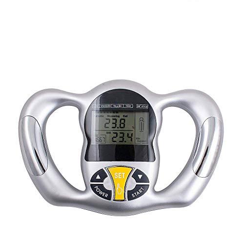 Preisvergleich Produktbild WuShuang Elektronische Handgriff-Fettmessgerät-Körperfett-Messgerät-Körperfett-Messgerät-Fett-Tester