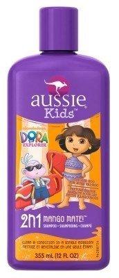Aussie Kids Dora The Explorer Shampoo 2-In-1 Mango Mate 12oz (3 Pack) by Aussie