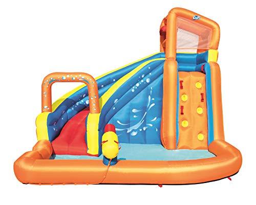 Castillo Hinchable Acuático Bestway Turbo Splash Water Zone_Mega Parque 245x200x145 cm