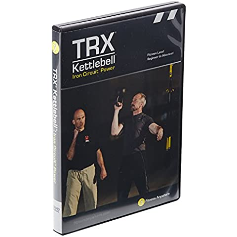 Planet Fitness TRX Kettlebell Iron Circuit Power - Allenamento combinato TRX e Kettlebell in DVD, in inglese - Planet Fitness