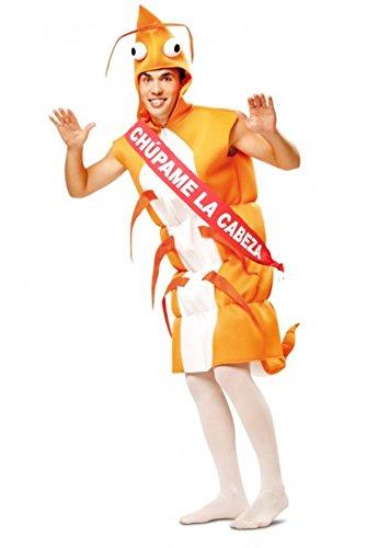 Disfrazjaiak Kostüm Garnele mit Band - Hombre, - Garnelen Kostüm Für Erwachsene