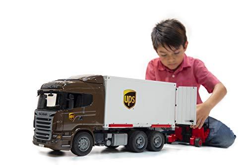 Bauernhof Scania R-Serie UPS Logistik-LKW