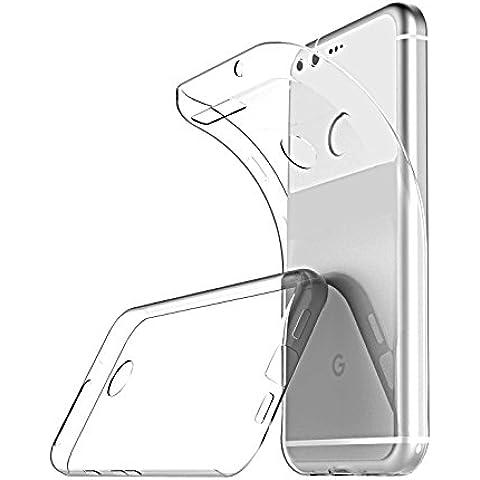 Custodia Google Pixel XL, Ikupei Ultra Sottile Google Pixel XL Cover Silicone Cristallo Molle TPU Trasparente Cover per Google Pixel - Xl Silicone