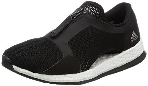 adidas Pureboost X Tr Zip, Chaussures de Course Femme Noir (Negbas/ftwbla/negbas)
