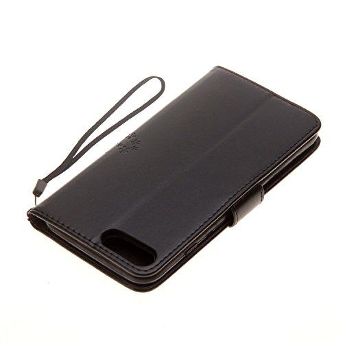 Cover iPhone 7 Plus 8 Plus, Sportfun Custodia Portafoglio In Pelle Con Wallet Case Cover Per iPhone 7 Plus 8 Plus con Porta Carte e Funzione Stand (05) 02