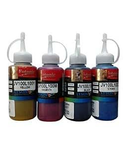 Lyson Fotonic DYE ink bottles for BROTHER Printers - 70ml x 4 Bottles (Cyan, Magenta, Yellow & Black)