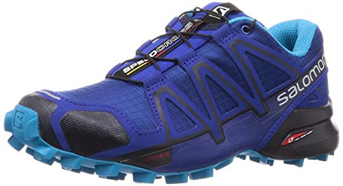 Salomon Speedcross 4 W, Scarpe da Trail Running Donna, Blu (Mazarine Blue Wil/Navy Blazer/Hawain), 39 1/3 EU