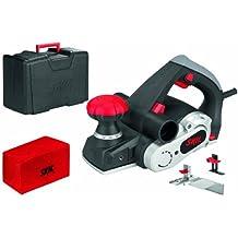 Skil 1565AD - Cepillo eléctrico para madera (720 W, anchura 82 mm, profundidad 0-2 mm, profundidad de rebaje 18 mm, bolsa para el polvo, maletín)