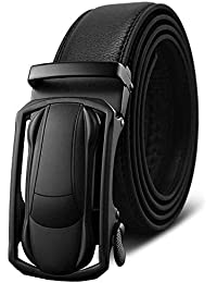 LLLM Cinturones Cinturones para Hombre para Hombre Hebilla De Metal Hombre  Vaqueros Cinturón De Cuero De 515316e1812d