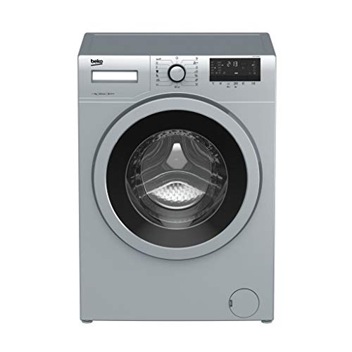 10 - Beko WTE 7532 BCX Independiente Carga frontal 7kg 1000RPM A+++ Acero inoxidable - Lavadora (Independiente, Carga frontal, Acero inoxidable, Giratorio, Tocar, Izquierda, 170°)