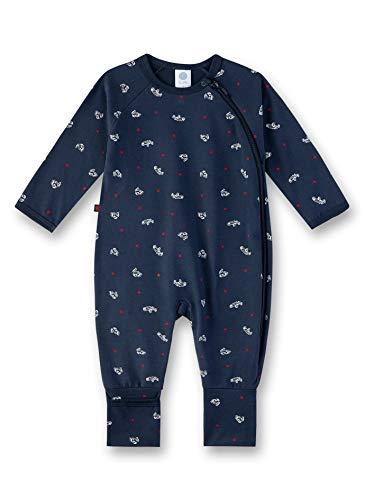 Sanetta Baby-Jungen Overall Strampler, Blau (Nordic Blue 5962), 56 (Herstellergröße: 056)