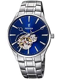 Festina Herren-Armbanduhr Analog Automatik Edelstahl F6847/3