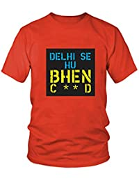 2c39abe4 DinkCart 100% Cotton Tshirt Round Neck Half Sleeves Regular Wear Tshirt  Tees Delhi SE HU