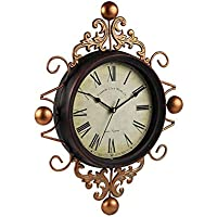 Mano Vintage Reloj de pared, decoración de pared Reloj de pared, Vintage Hierro forjado