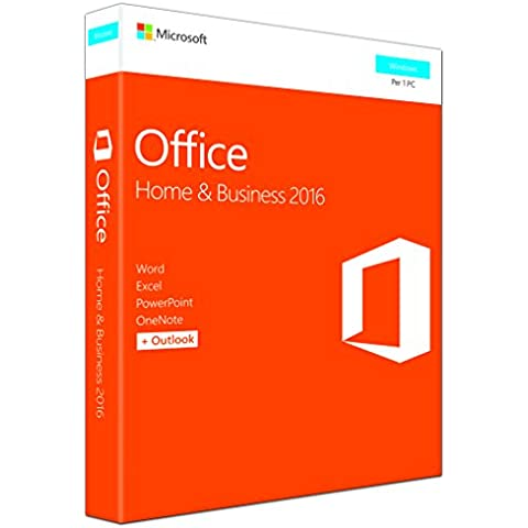 Microsoft Office 2016 - Home & Business (Windows) [1 dispositivo