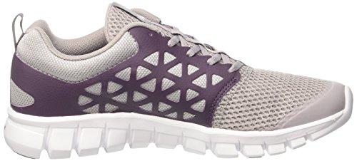 Reebok Bd5538, Sneakers trail-running femme Gris (Whisper Grey/meteorite/white/pewter)