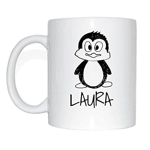 JOllipets LAURA Namen Geschenk Kaffeetasse Tasse Becher Mug PM5583