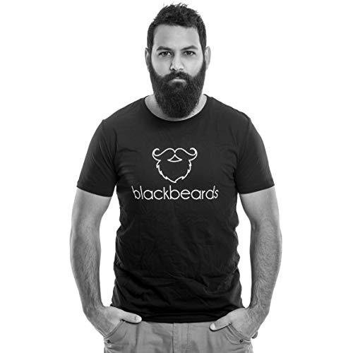 blackbeards Logo Shirt - das T-Shirt für Bartträger ()