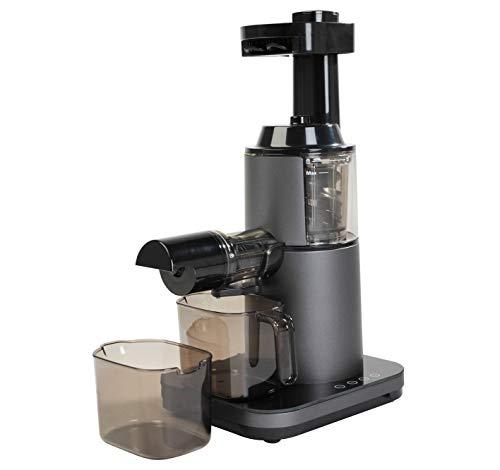 RGV Juice Art Next Estrattore di Succo, Doppia coclea,200 W, Grigio Scuro