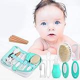 LEADSTAR Babypflegeset, Baby Pflegeset mit Nagelknipser Nagelfeile Nagelschere für Fingernägel und Fußnägel, Fingerzahnbürste Beißring Nasensauger für Kinder Neugeborene Baby Erstausstattung Babywanne