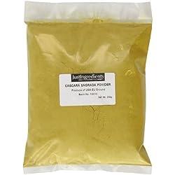 JustIngredients Cascara sagrada-Pulver, Cascara Sagrada Powder, 1er Pack (1 x 250 g)